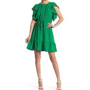 NWT GOOD LUCK GEM   Flutter Mini Dress